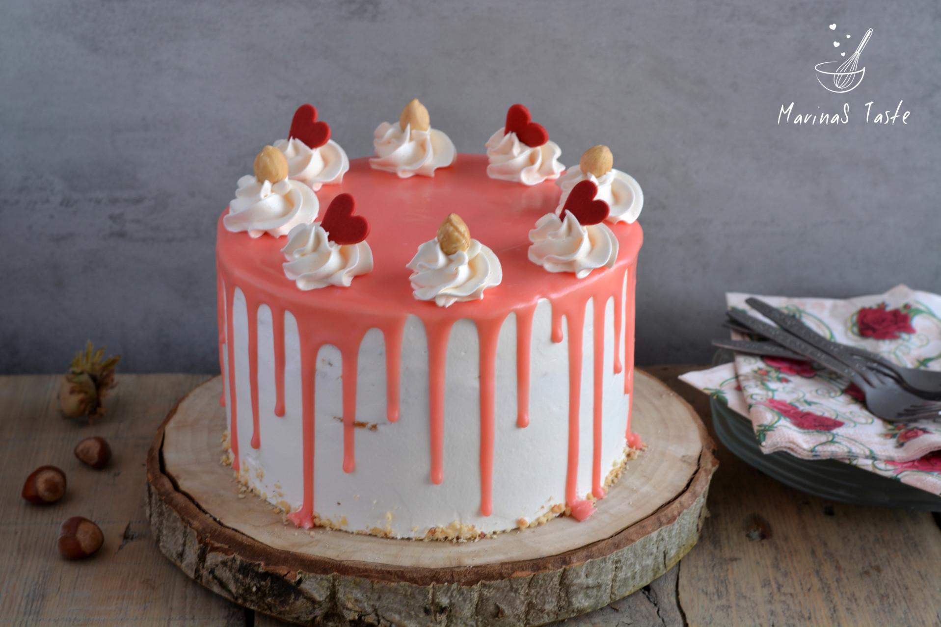 Bela-nugat-torta-sa-malinama-1
