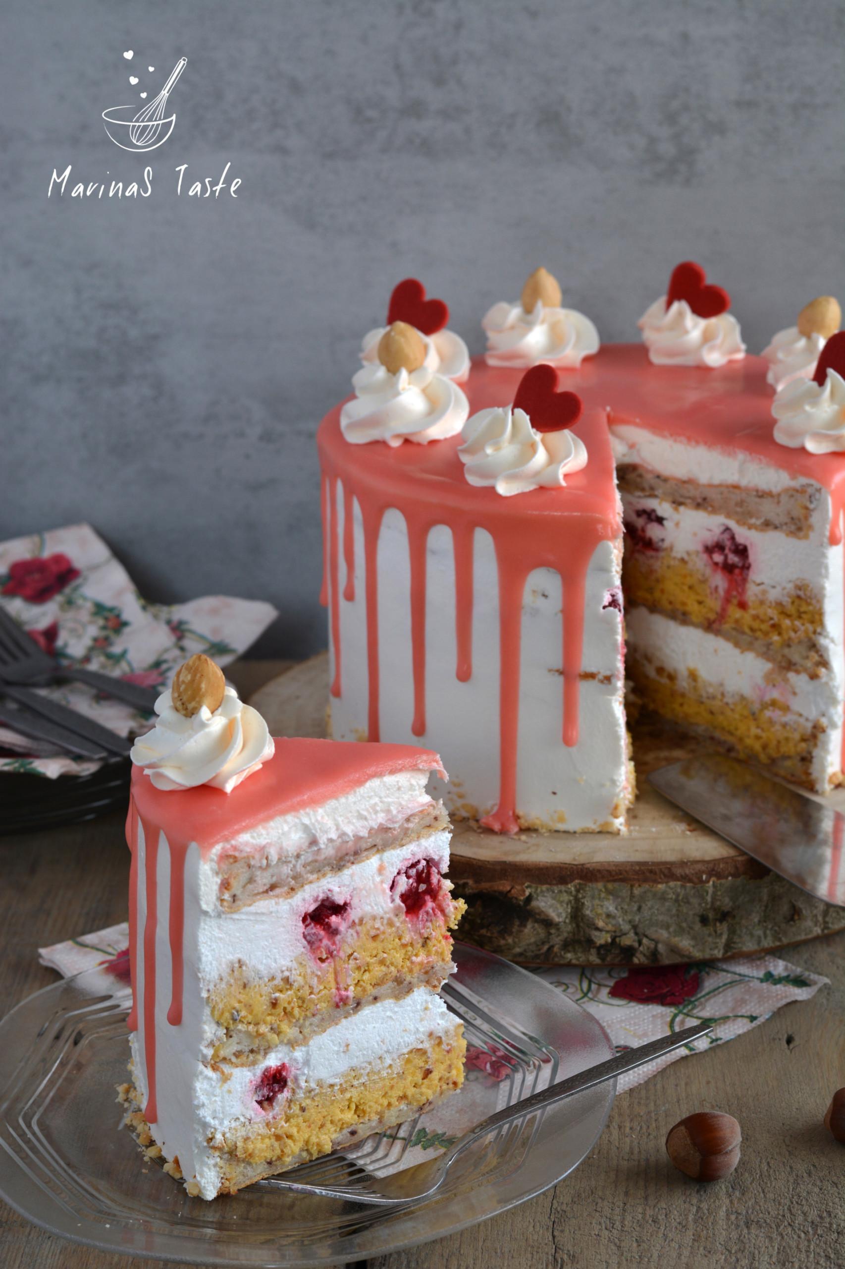 Bela-nugat-torta-sa-malinama-3