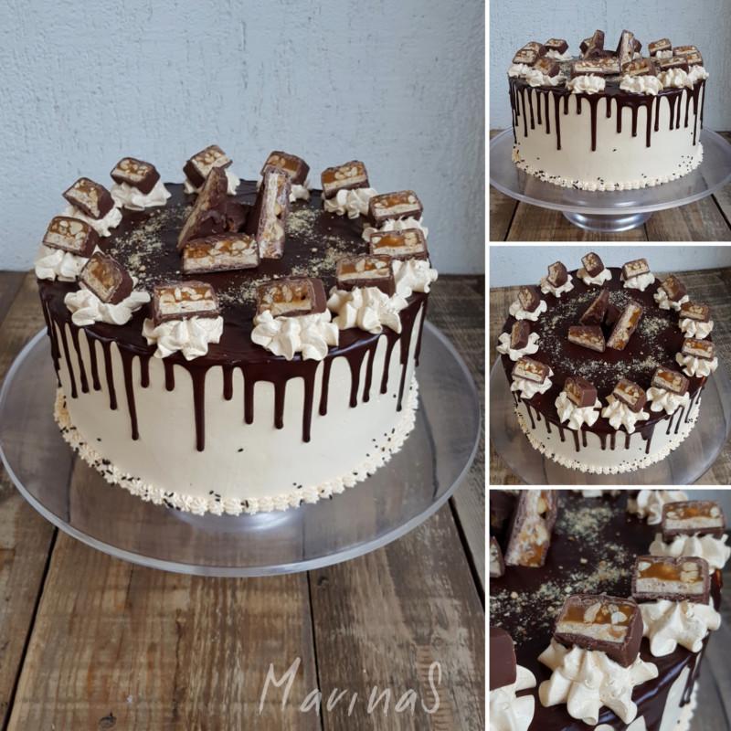 Snikers-torta-5