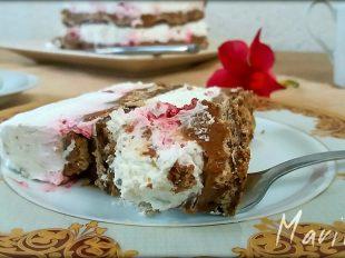 Beze-cokoladna-torta-sa-malinama-2