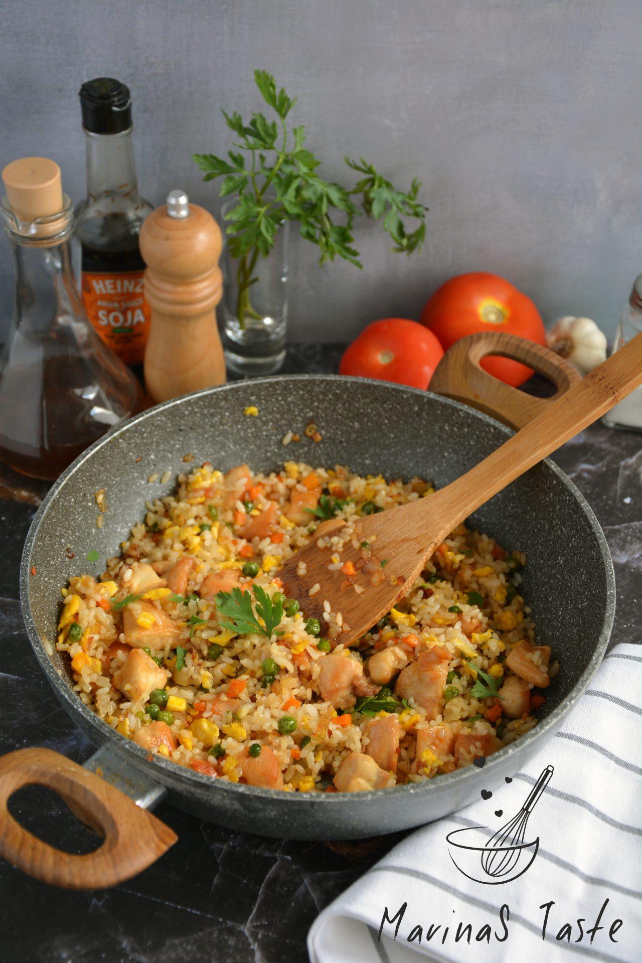 Rizoto-sa-piletinom-i-povrcem-2