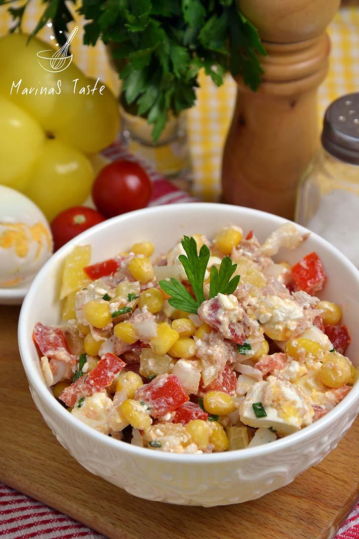 Salata-sa-tunjevinom-i-kukuruzom-2