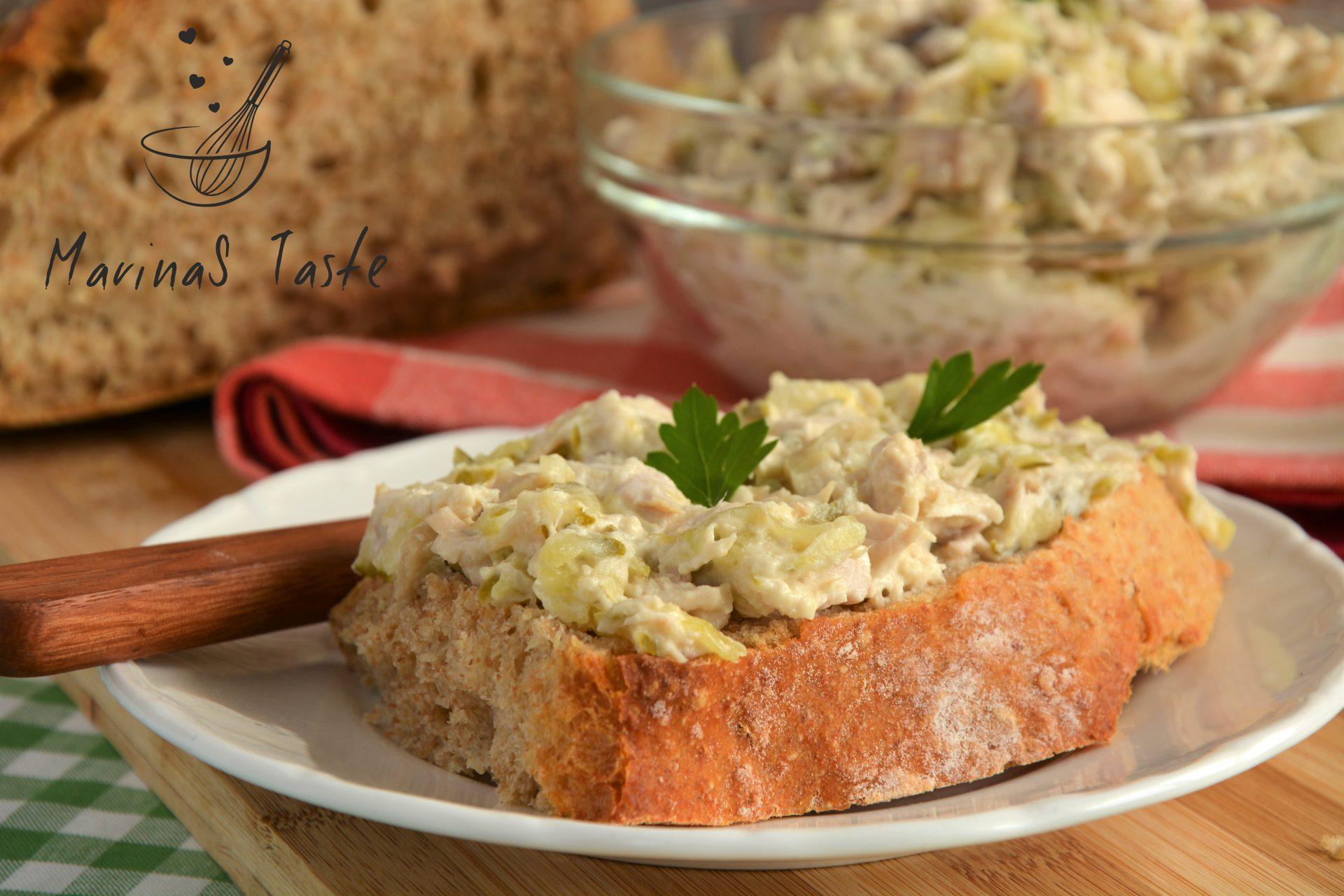 Salata-sa-piletinom-i-sampinjonima-2