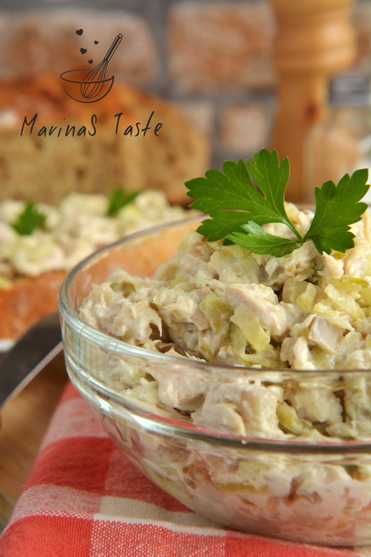 Salata-sa-piletinom-i-sampinjonima-4