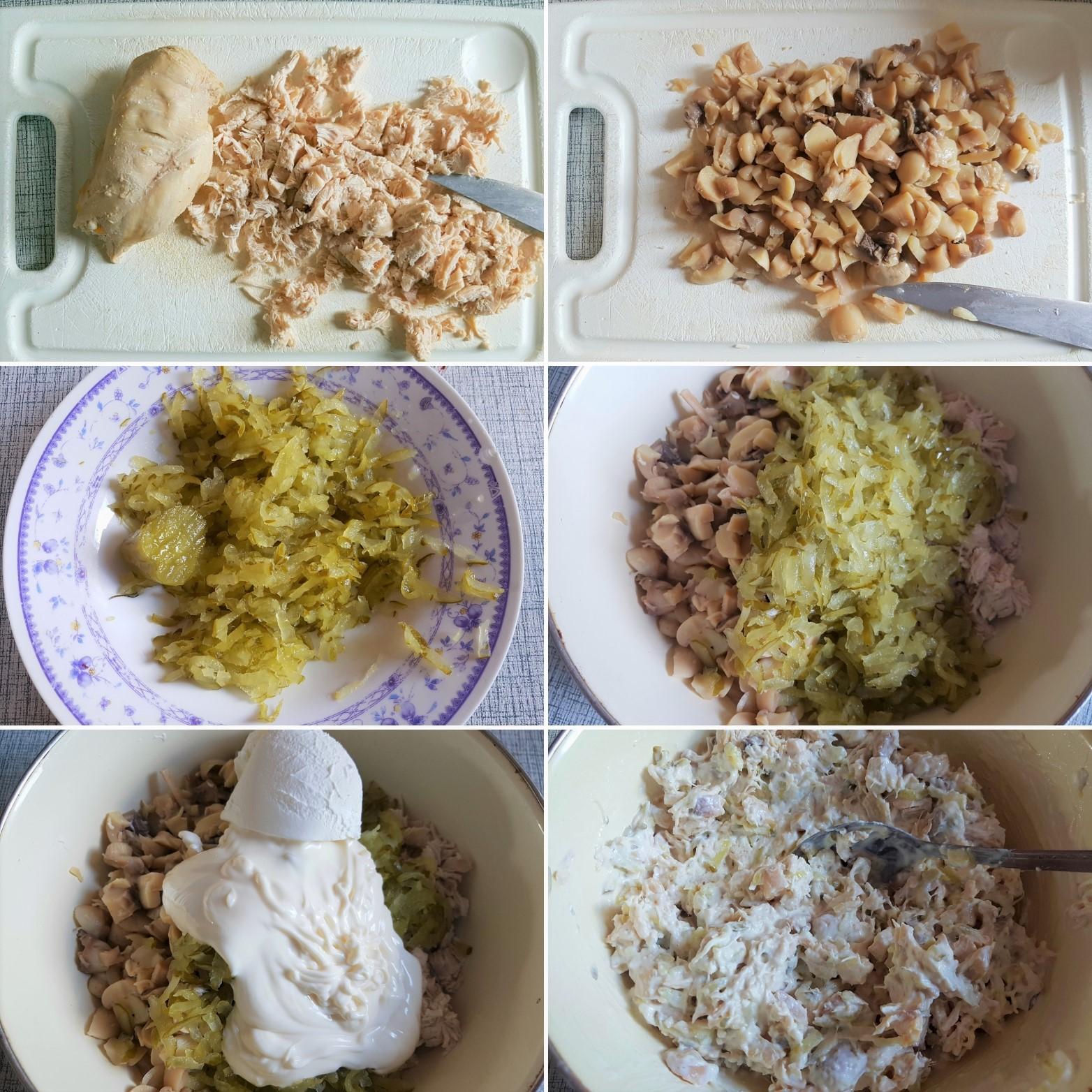 Salata-sa-piletinom-i-sampinjonima-5
